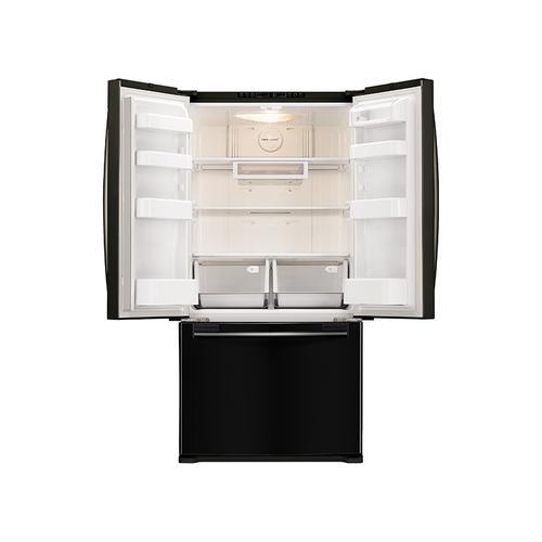 Samsung - 18 cu. ft. Counter Depth French Door Refrigerator