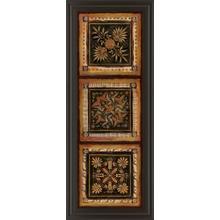 "See Details - ""Folk Art Panel I"" By Tava Studios Framed Print Wall Art"