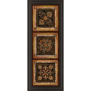 """""""Folk Art Panel I"""" By Tava Studios Framed Print Wall Art"""