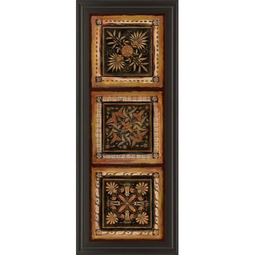 "Classy Art - ""Folk Art Panel I"" By Tava Studios Framed Print Wall Art"