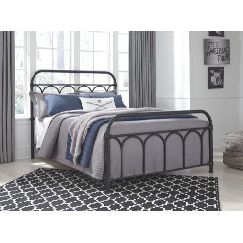 Signature Design By Ashley - Nashburg Full Metal Bed