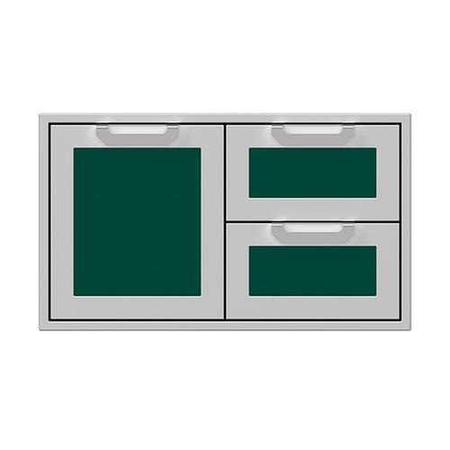 """Hestan - 36"""" Hestan Outdoor Combo Door/Drawer - AGSDR Series - Grove"""