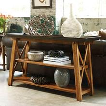 Tray Top Console Table