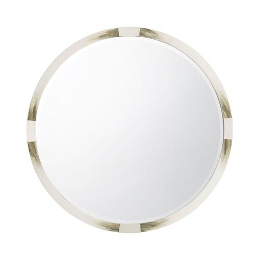 See Details - Cutting Edge Mirror (Round, Longhorn White)