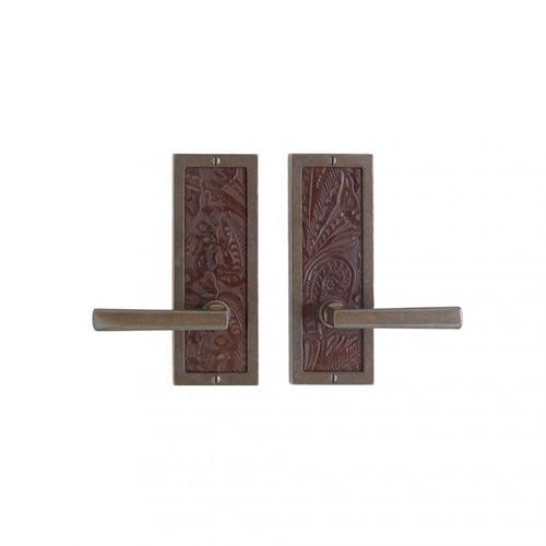 """Rocky Mountain Hardware - Designer Passage Set - 3"""" x 8"""" Silicon Bronze Brushed with Basic"""
