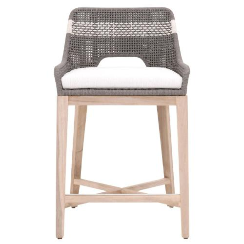 Tapestry Outdoor Counter Stool, Orient Express Furniture Loom Counter Stool