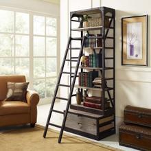 See Details - Velocity Wood Bookshelf in Brown