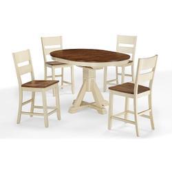 Single Pedestal Table (buttermilk)
