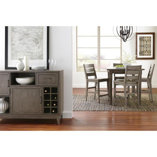 Vogue - Counter Height Stool - Gray Wash Finish