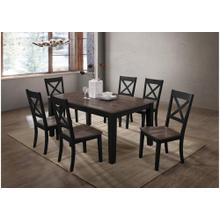 5058 A La Carte Black 5-Piece Drop-Leaf Dining Set