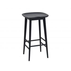 Hilton 3 Piece Black Kitchen Island Set (Kitchen Island & 2 Counter Stools)