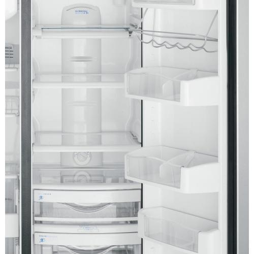 GE Cafe - GE Café Series 24.6 Cu. Ft. Counter-Depth Side-by-Side Refrigerator