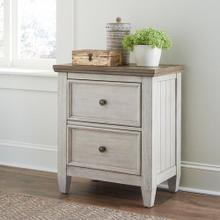See Details - 2 Drawer Night Stand w/ Charging Station