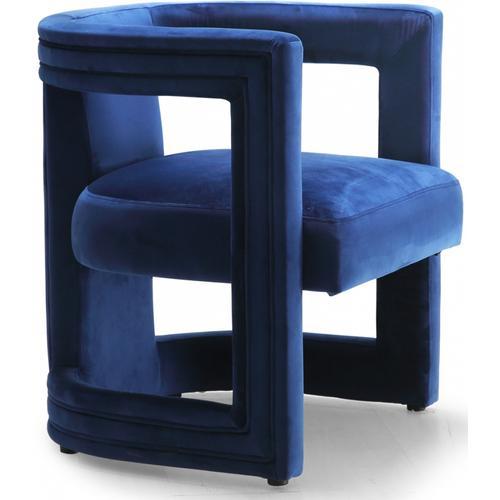 "Blair Velvet Dining/Accent Chair - 26"" W x 24.5"" D x 28"" H"