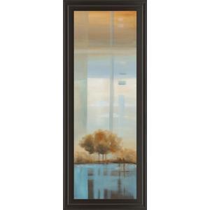"""""""Window On The Word Il"""" By Carol Robinson Framed Print Wall Art"""