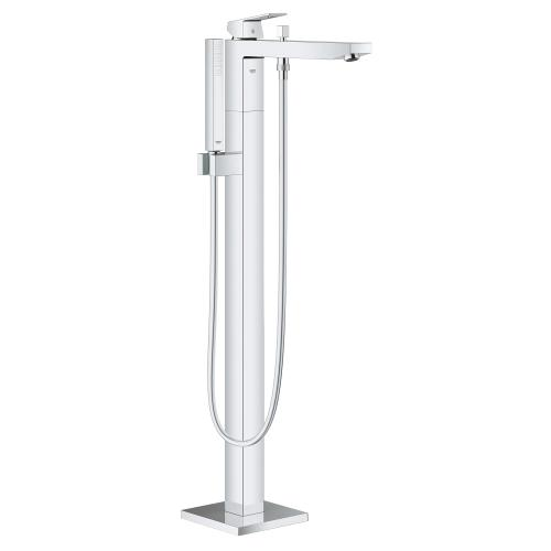 Eurocube Single-handle Freestanding Tub Faucet With 1.75 Gpm Hand Shower