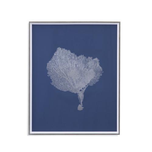 Bassett Mirror Company - Sea Fans in Silver IV