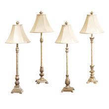Buffet Lamp with Soft Gold Finish (4 asstd). 40W Max.