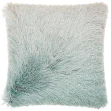 "Shag Tr011 Celadon 20"" X 20"" Throw Pillow"