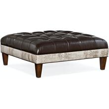 Bradington Young XL Fair-N-Square Tufted Square Ottoman 807-SQ