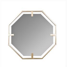 Kelani Hexagon Wall Mirror