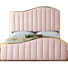"""Jolie Velvet Bed - 81"""" W x 87.5"""" D x 61.5"""" H"""