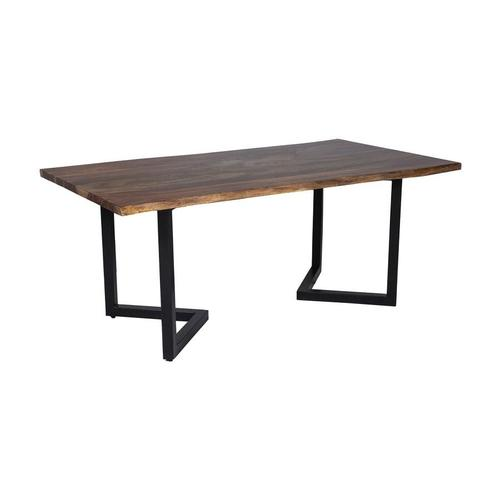 "Manzanita Harvest Sheesham 82"" Dining Table with Different Bases, VCS-DT82H"