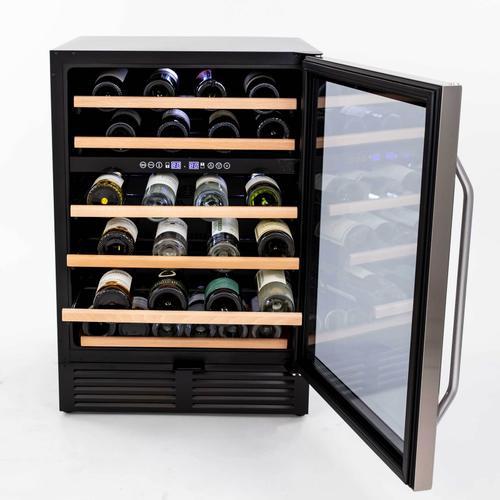 49 Bottle Dual-Zone Wine Cooler