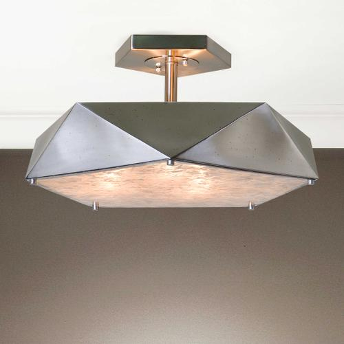 Tesoro, 3 Lt Semi Flush Mount