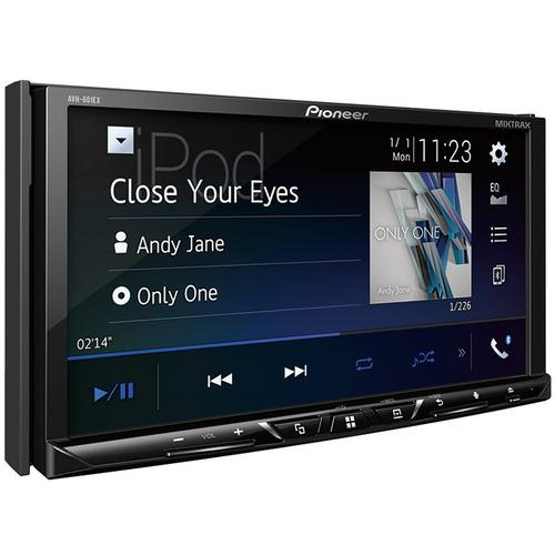 "Multimedia DVD Receiver with 7"" WVGA Display, Built-in Bluetooth®, HD Radio Tuner, SiriusXM-Ready and AppRadio Mode +, Remote Control Included and two camera inputs"