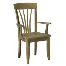 Model 13 Arm Chair Wood Seat