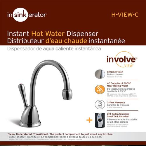 H View Instant Hot Water Dispenser