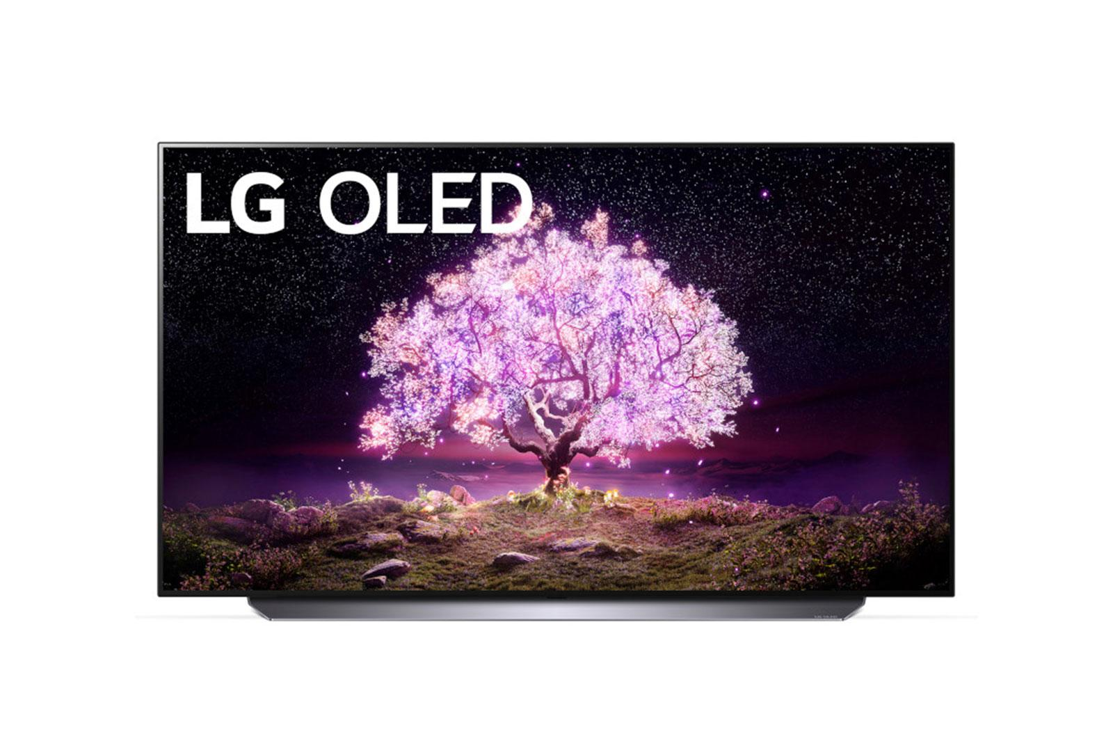 "LG C1 48 inch Class 4K Smart OLED TV w/AI ThinQ® (48.2"" Diag.)"