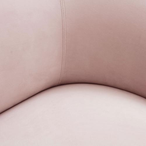 Serenity Blush Velvet Sofa