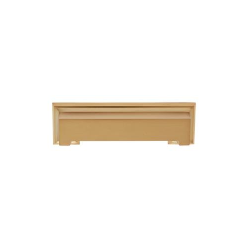 Satin Brass 128 mm c/c Marquee Cup Pull