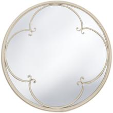TAYLOR TAUPE MIRROR  23in w. X 23in ht. X 2in d.  Powder Coated Window Pane Wall Mirror