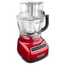 KitchenAid Architect Series 13-Cup Food Processor with die cast base - Candy Apple Red