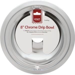 FrigidaireSmart Choice 8'' Chrome Drip Bowl, Fits Specific