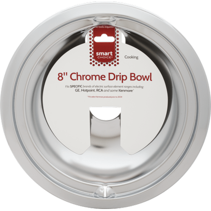 See Details - Smart Choice 8'' Chrome Drip Bowl, Fits Specific