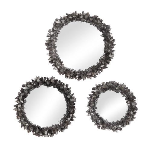 Uttermost - Galena Round Mirrors, S/3