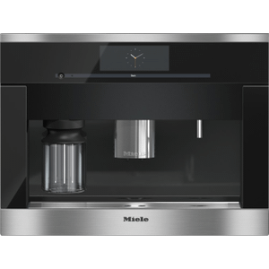 MieleCVA 6800 - Built-in coffee machine with bean-to-cup system - the Miele all-rounder for the highest demands.