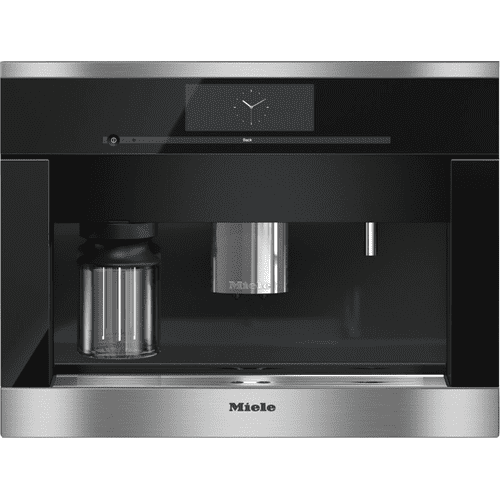 Built-in coffee machine with bean-to-cup system - the Miele all-rounder for the highest demands.