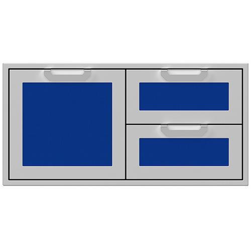 """Hestan - 42"""" Hestan Outdoor Combo Door/Drawer - AGSDR Series - Prince"""