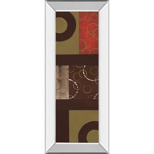 """""""Mix N' Match Il"""" By Earl Kaminsky Mirror Framed Print Wall Art"""