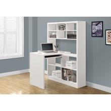 See Details - COMPUTER DESK - WHITE LEFT OR RIGHT FACING CORNER