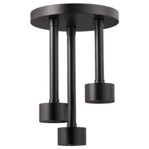 H 2 Okinetic® Round Ceiling Mount Pendent Showerhead Product Image