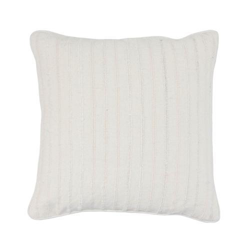 See Details - Morris Linen White Pillow