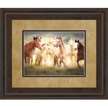 """Dance Class"" By Wendy Caro Framed Print Wall Art"