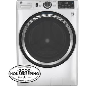 GE® 4.8 cu. ft. Capacity Smart Front Load ENERGY STAR® Washer with UltraFresh Vent System with OdorBlock™ and Sanitize w/Oxi Product Image