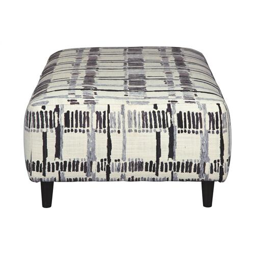 Kennewick  Oversized Accent Ottoman Shadow
